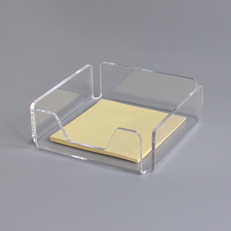 Functional Acrylic Name Card Holder Paper Organizer