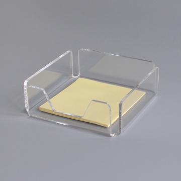 Titular do cartão de acrílico funcional / organizador de papel