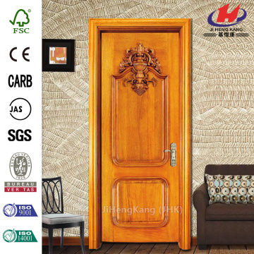 JHK-017  Carved Design Miniature Wooden Half Interior Swinging Door