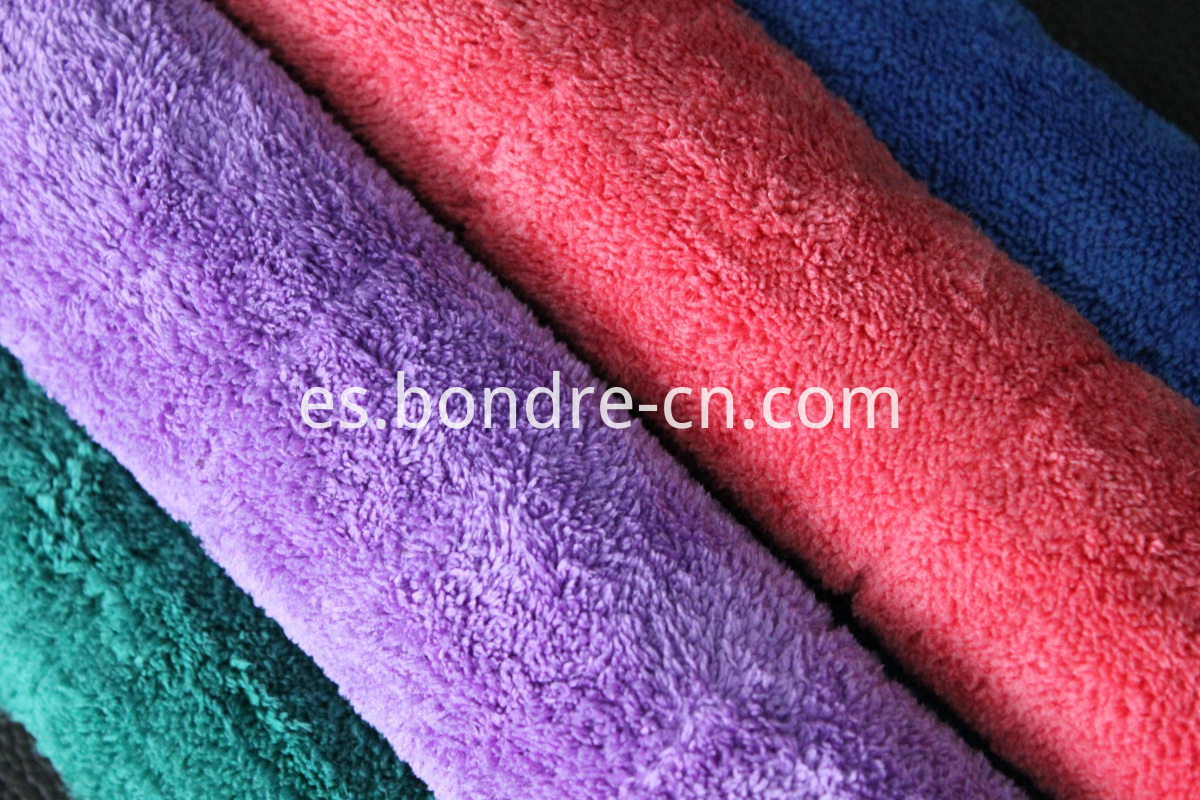 car cleaning plush towel