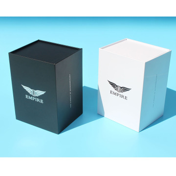 Kotak kadbod In-Ear Earphone Gift Packaging Matte Black