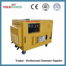 10kw Portable Diesel Generator with Air-Cooled 4-Stroke Engine