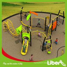 Structure d'escalade des enfants, système de jeu extérieur LE.SG.004