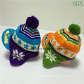 Acrylic Kids and Children Earflap Hat