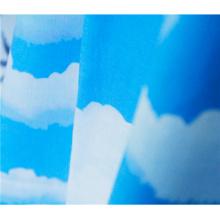 Print cotton linene material fabric