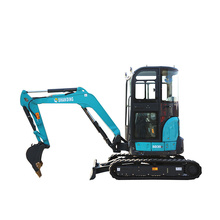 Shanding excavator with attachments on sale
