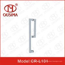 Aço inoxidável identificador usado na porta de vidro e banheiro