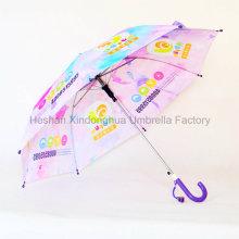 Maßgeschneiderte Vollfarbe drucken Kid Regenschirme für Kinder (KID-0019ZC)