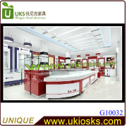 Over Round Sunglasses or Eyeglasses Stores/Kiosks/ Design and Customization Used in Mall (free for design)