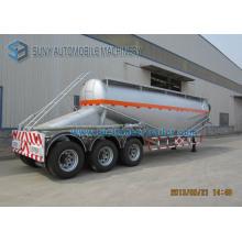 High Quality V Shape 35 M3 Bulk Cement Tank Semi Trailer / Dry Powder Tanker Trailer for Sale