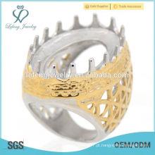 Anéis originais do desenhador da carcaça do múltiplo original, anéis do vintage de Indonésia projetam para homens
