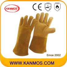 Перчатки из натуральной кожи для промышленной сварки (11126)
