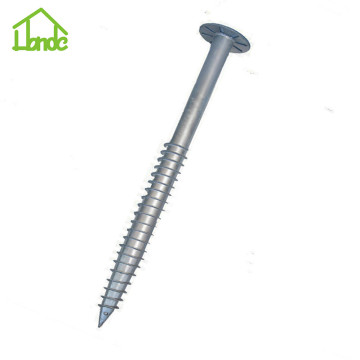 Ground Screw Earth Auger Anchor untuk Tata Surya