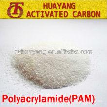 Poliacrilamida catiónica de alto peso molecular floculante PAC purificador de agua fabricantes