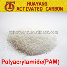 Floculante de poliacrilamida catiônica de alto peso molecular PAC fabricantes de purificadores de água