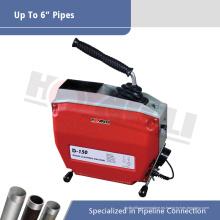 D150 Máquina de limpieza de drenaje de tuberías de serpiente eléctrica