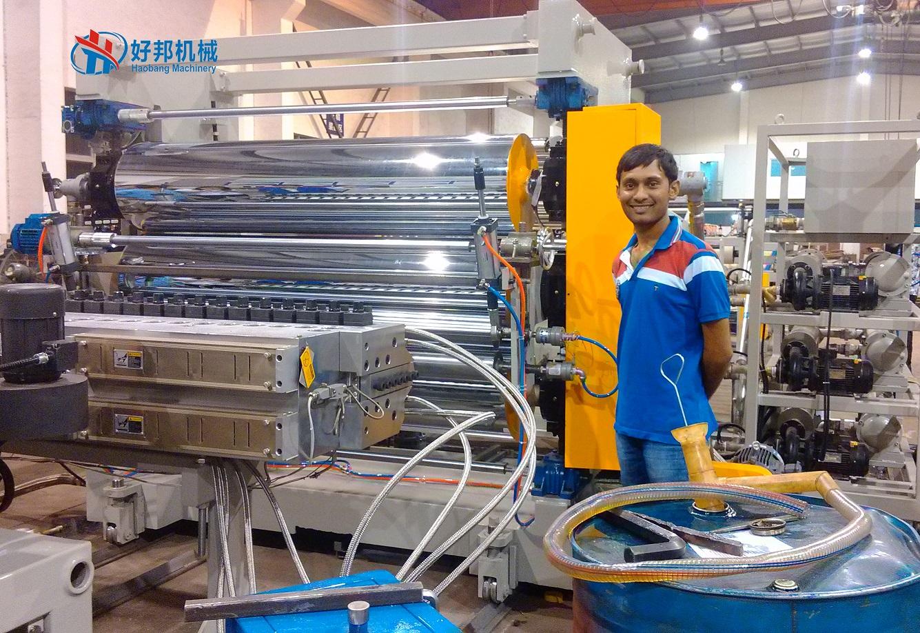 Pvc Free Foam Sheet Machine Calender