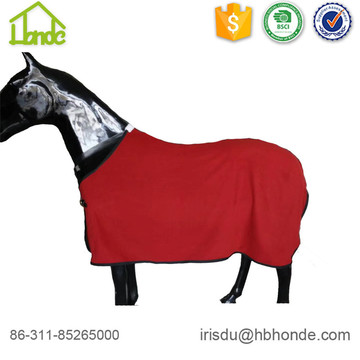 Polar Fleece alfombras de caballo transpirable asistencia