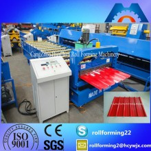 HC25 Color Steel Galvanized Metal Roof Sheet Roll Forming Machine Of Construction Machine