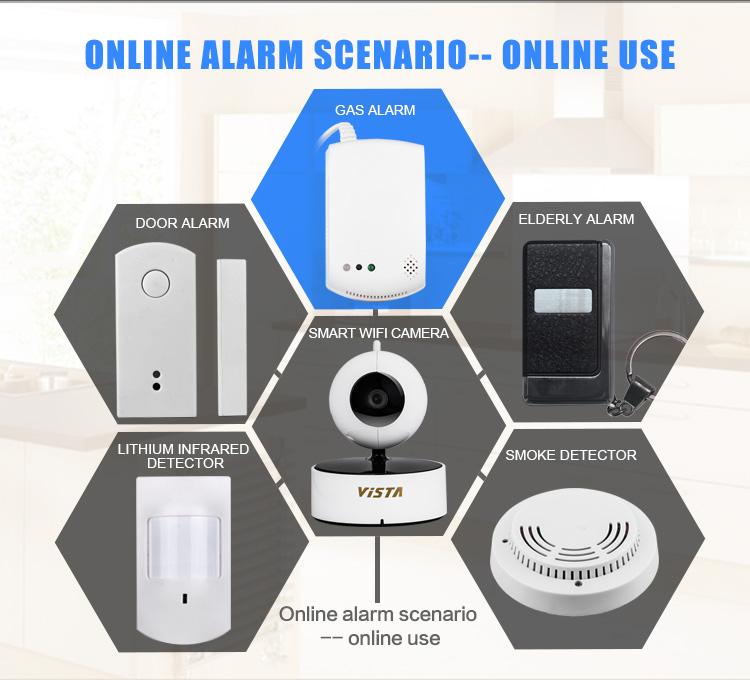 Wifi Online Gas Alarm