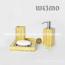 Two Tone Bamboo Bath Set (WBB0301C)