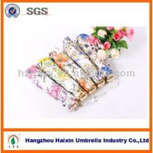 Guarda-chuva de parasóis extravagante de seda chinesa de 3 dobras