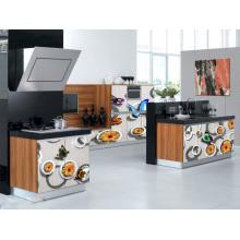 Gabinete de cozinha em estilo chinês 3D (vendas quentes)