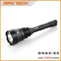 Maxtoch 2X, Utmost Long Range Hunt Lanterna, Versão de Atualização de SN6X-2X, Extremamente Longo Alcance Lanterna