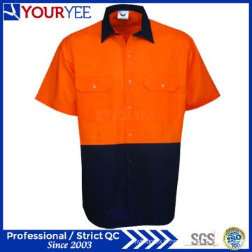 Safety Hi Vis Chemises de travail Chemises à manches courtes Chemises (YWS117)
