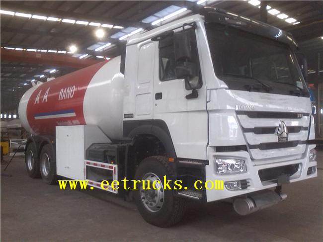 24 CBM Propane Tanker Trucks