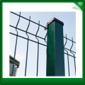 Welded mesh security fencing panels