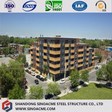Certificated European Prefab Structural Residential Building/Commercial Construction
