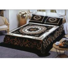100% полиэстер Супер мягкий цветок печатных резные дешевые Мексиканские одеяло
