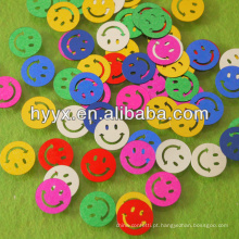 Confetes de festa, confete solto de forma de sorriso