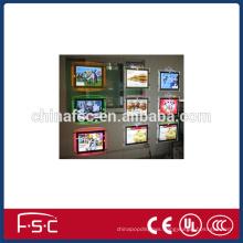 A1 double-sided frame led crystal acrylic light box