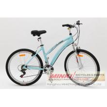 26 ′ ′ Lady bicicleta híbrida (ANB10PR-2661)