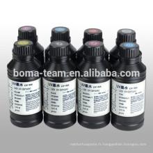 Encre d'impression offset UV pour Epson DX5 F187000 Encre de séchage UV pour Epson Stylus Pro 7880
