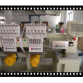 Double head computerized Embroidery Machine for Cap, flat,t-shirt, garment,sequin, cording, boring, beads embroidery