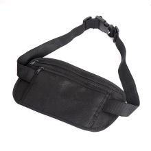 Custom Logo Simple Cheap Elastic Belt Waist Bag Fanny Pack Travel Running Bag