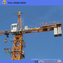 Guindaste de torre superior chinês dos jogos do fabricante 10t Qtz160-6516 do guindaste de torre