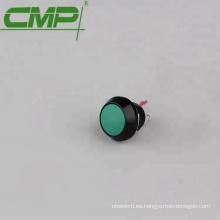 Conmutador de botón de puerta de salida sin salida de 12 mm