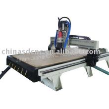 Máquina del ranurador del CNC / cambiador de herramienta automático con mesa de vacío, 8tools/JK-1325