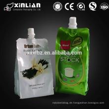 Auslaufbeutel Sicherheitssiegel / Erdnussbutter Verpackung / Erdnussbutter Gläser Tasche