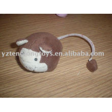 Plush stuffed measuring tape