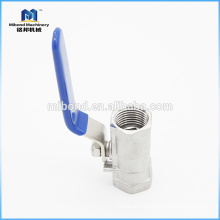 Food grade Sanitary Stainless Steel 1/4'' npt ball valve