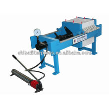 Hot sale 400 Series Small Manual Chamber Laboratory Filter Press en stock