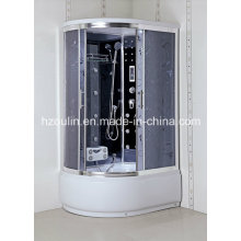 Mutifuctional Shower Cubicle Room with Acid Glass