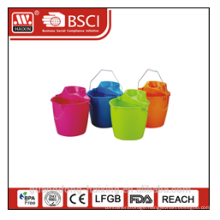 popular plastic mop bucket with wringer