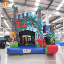 Inflatable castle jumping bouncer