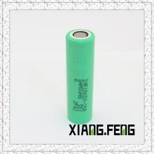 Original pour Samsung 25r 2500mAh Inr 18650 Batterie 30A, batterie rechargeable 18650 pour Samsung Mod Ecig PS4